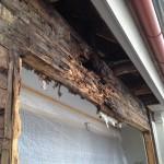 ...så går det när man låter ett tak läcka under lååång tid.
